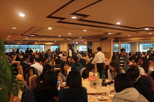 台湾市内観光ツアーのお昼ご飯